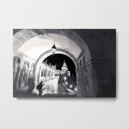 Fishermans Bastion in Budapest Hungary Metal Print