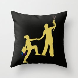 Threadless Live at Marwen: John Bollo Throw Pillow
