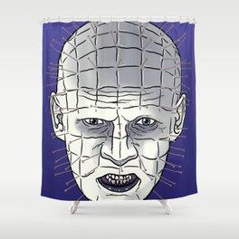 Head Of Pins Shower Curtain