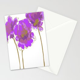 Purple Poppy Stationery Cards