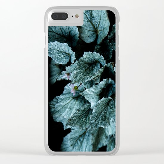 Powerful nature. Begoniaceae Clear iPhone Case