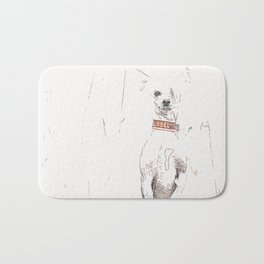 Chinese crested 25 Bath Mat