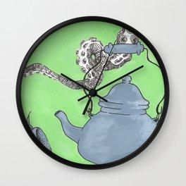 Tea Time 2 Wall Clock