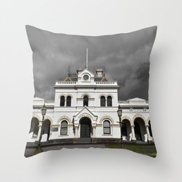 Clunes Town Hall Dramatic Throw Pillow