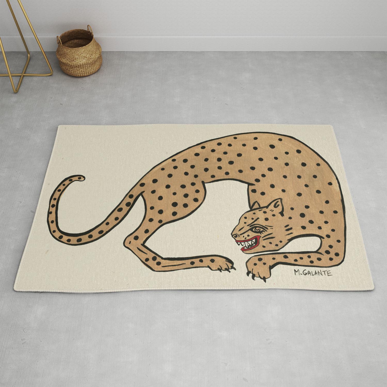 Cheetah Rug By Megangalante Society6