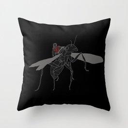 Ant-man & Anthony Throw Pillow