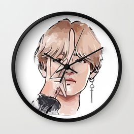 BTS Personal Wall Clock