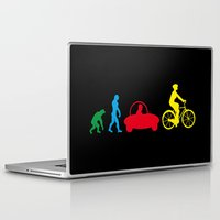 evolution Laptop & iPad Skins featuring Evolution by graphic small things