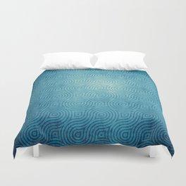 Blue Pattern Duvet Cover
