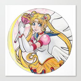 Eternal Sailor Moon Canvas Print