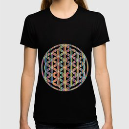 Flower of Life Colored | Kids Room | Delight T-shirt
