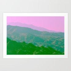 Palm Springs Mountains IV Art Print