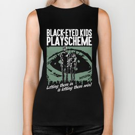 BLACK-EYED KIDS PLAYSCHEME Biker Tank