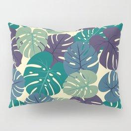 Tropical Palm Leaves Pillow Sham