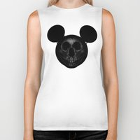mickey Biker Tanks featuring Mickey by nicebleed