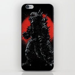 Hail Zilla iPhone Skin