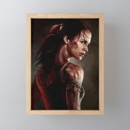 Tomb Raider Framed Mini Art Print