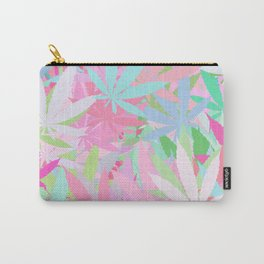 Marijuana Cannabis Weed Pot Spring Theme Carry-All Pouch