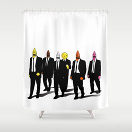 Reservoir Crayons Shower Curtain