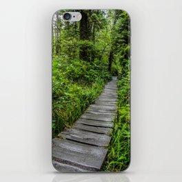 Hiking to Cape Flattery, Olympic Peninsula, Washington iPhone Skin