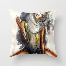 No7 Throw Pillow