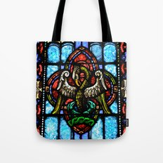 Rising From Glass Tote Bag
