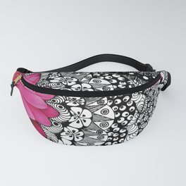 Flower Tangle Fanny Pack