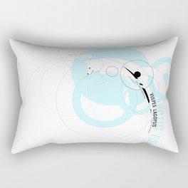 Vulpes Lagopus Rectangular Pillow