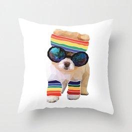 Pom Fabulous Throw Pillow