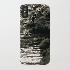 Dark Wave iPhone X Slim Case