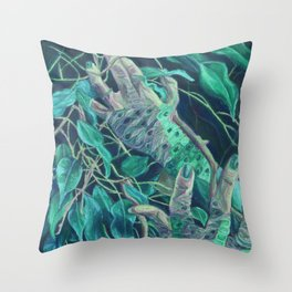 Cell Theory Throw Pillow