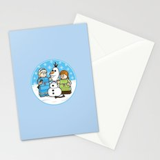 Want to Build a Snowman? Stationery Cards