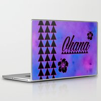 ohana Laptop & iPad Skins featuring Ohana by Lonica Photography & Poly Designs