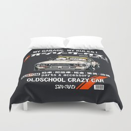 Crazy Car Art 0132 Duvet Cover