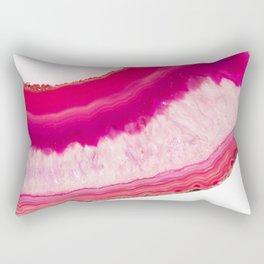 Agate pink Rectangular Pillow
