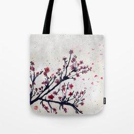 Sakura Sakura watercolour Tote Bag