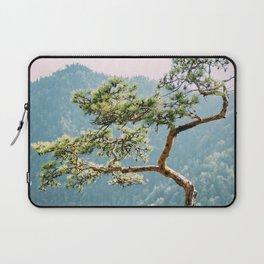 Sokolica Mountain Pine Tree Laptop Sleeve