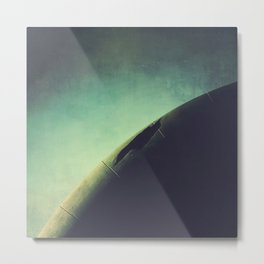 Abstract Curve Metal Print