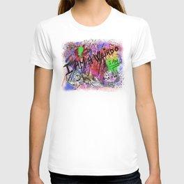 Metaphysical Penguin I AM A WEIRDO T-shirt