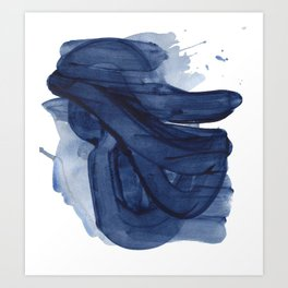 Indigo #1 Art Print