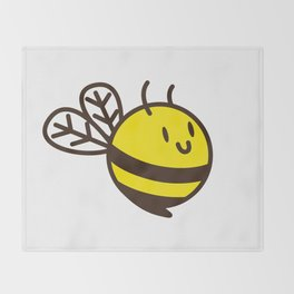 Cuddly Bee Throw Blanket