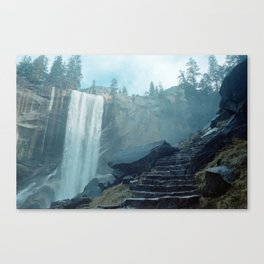 waterfell i Canvas Print