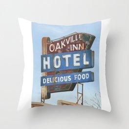 Delicious Food Throw Pillow