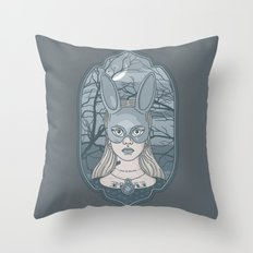 The Wrong Alice Throw Pillow