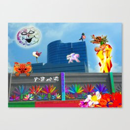 Tripping On Dragons Canvas Print