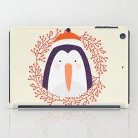 penguin iPad Cases featuring penguin by Taranta Babu