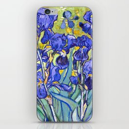 Vincent Van Gogh Irises iPhone Skin