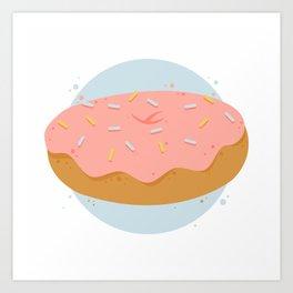 Donut! Art Print