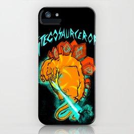 Stegosaurceror! iPhone Case