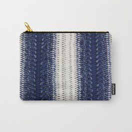 Dip-dye Crochet Carry-All Pouch